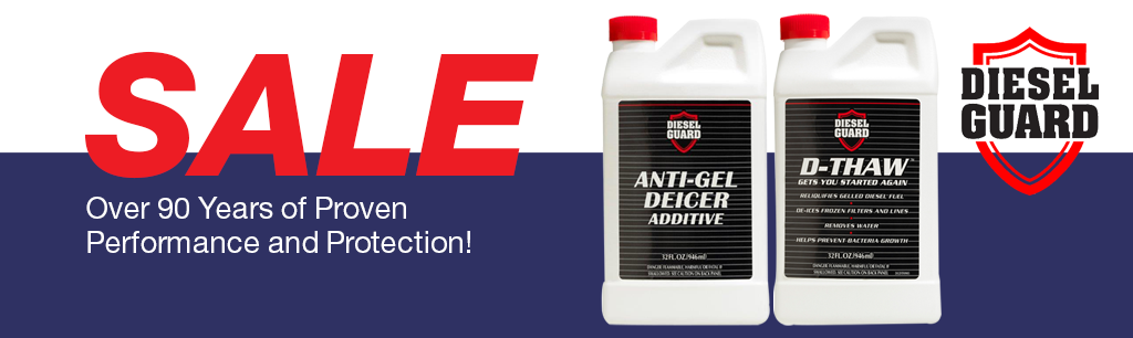 Diesel Guard Anti-Gel Deicer Additive and D-Thaw Sale